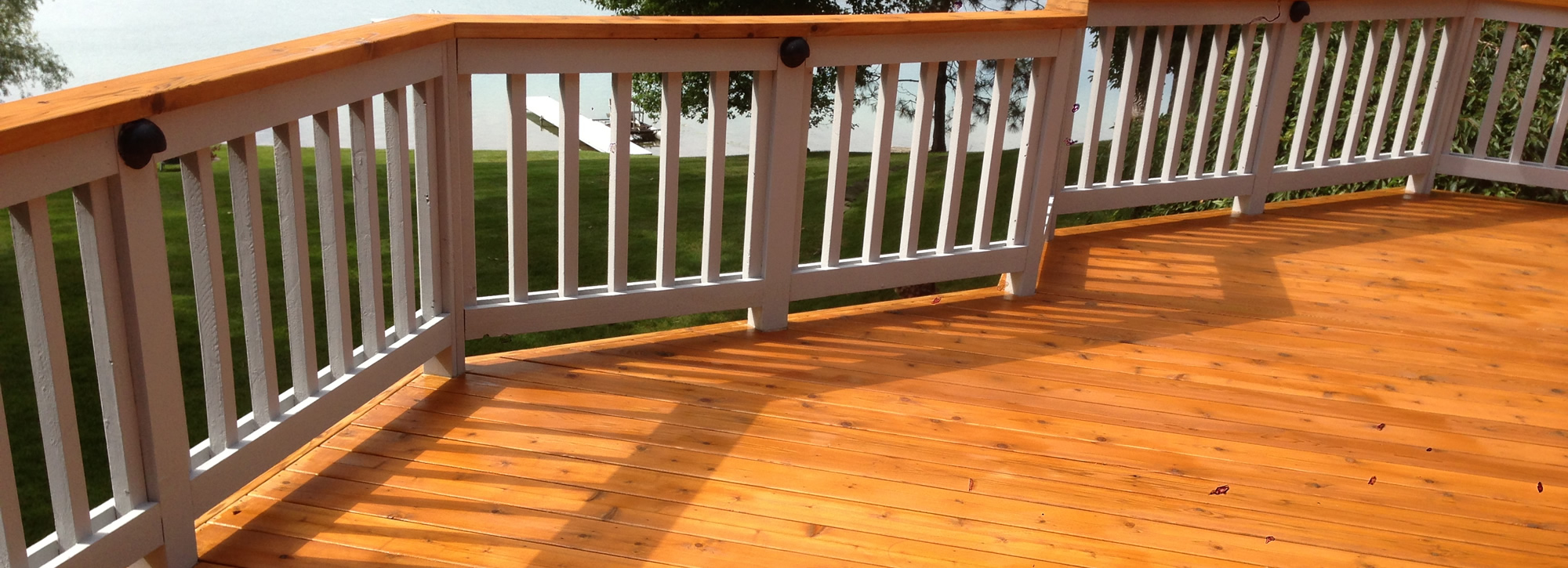 Michigan Deck Restoration, Cleaning and Staining