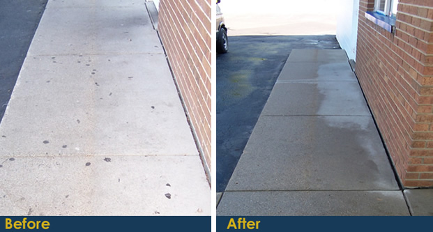 Pressure Washing Can Help Your Michigan Business This Fall