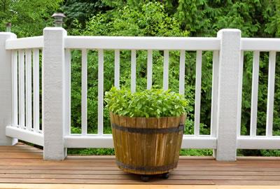 Wood Deck Restoration - Pressure Washing