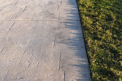 Pressure Washing Stamped Concrete - Macomb County, MI